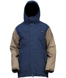 Ride Laurelhurst Snowboard Jacket Twilight Navy Slub