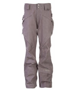 Cappel Lennox Vented Snowboard Pants Grey Denim