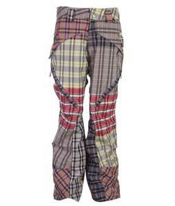 Cappel Lennox Vented Snowboard Pants Multi Plaid