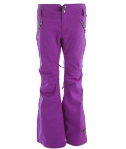 Ride Leschi Snowboard Pants Dark Violet Twill