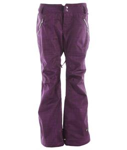 Ride Leschi Snowboard Pants Scratches Print