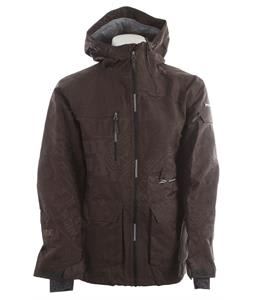 Ride Lincoln Snowboard Jacket Gunmetal Jacquard