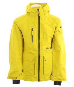 Ride Lincoln Snowboard Jacket Yellow Jacquard