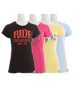 Ride Logo 4 Pack T-Shirt Asst