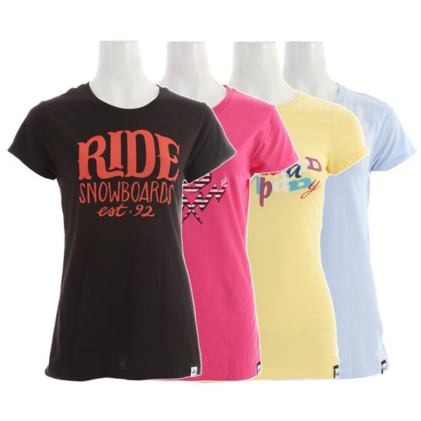 Ride Logo 4 Pack T-Shirt