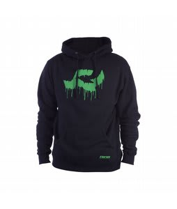 Ride Logo Drip Pullover Hoodie Black