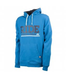Ride Logo Pullover Hoodie Electric Blue