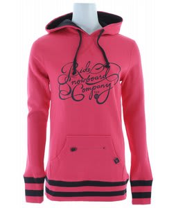 Ride Logo Pullover Hoodie Electric Fushia