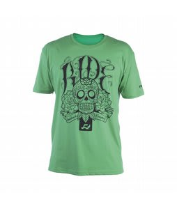 Ride Slim Logo T-Shirt Green