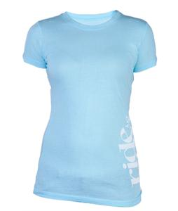 Ride Logo T-Shirt Teal