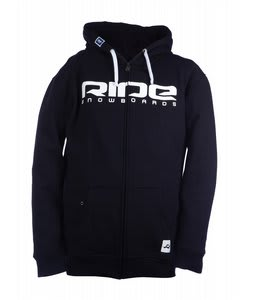 Ride Logo Full Zip Hoodie Navy
