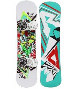 Ride Lowride Snowboard w/ Micro Bindings