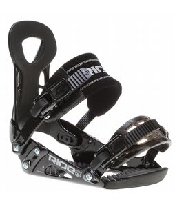 Ride LX Snowboard Bindings Black