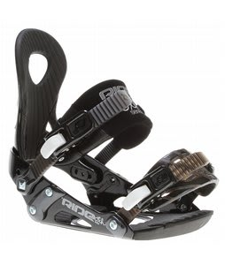 Ride LXh Snowboard Bindings Black