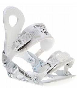 Ride LXh Snowboard Bindings White
