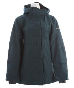 Ride Madison Snowboard Jacket Blue Marine Slub