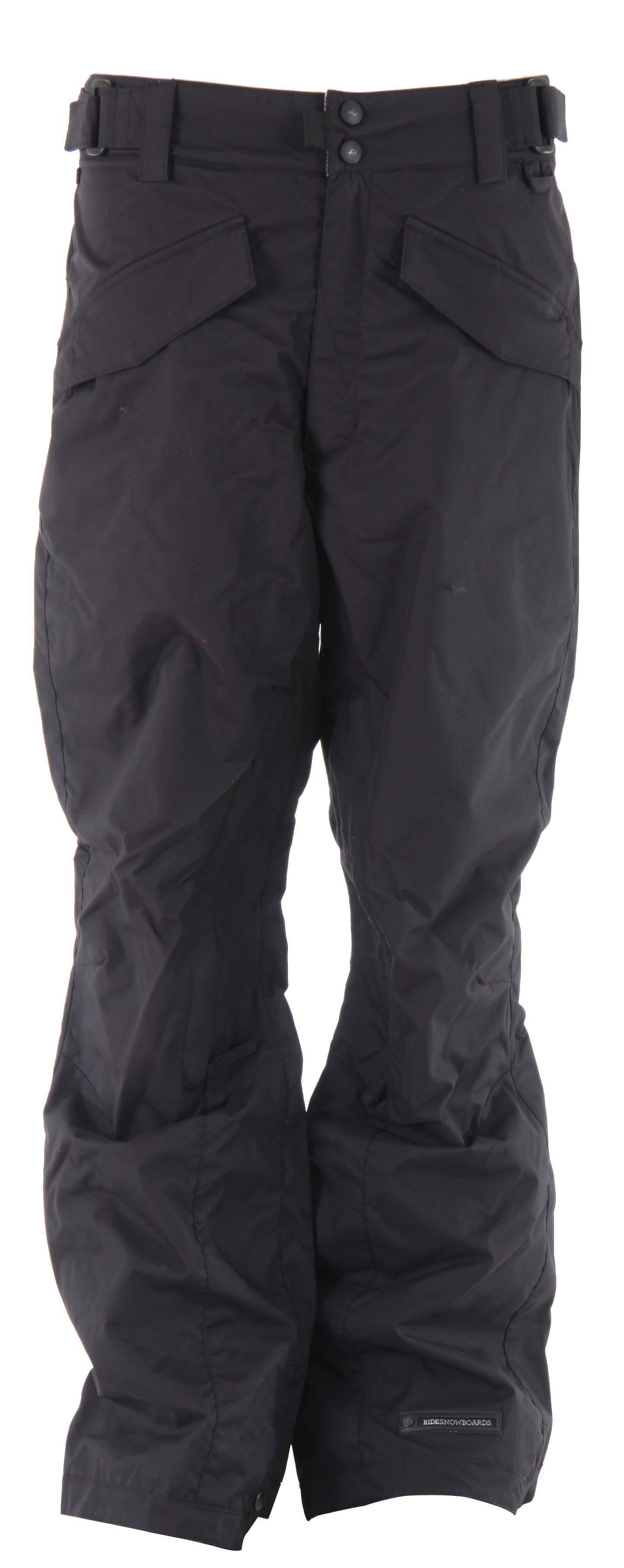Shop for Ride Madrona Snowboard Pants Black - Men's