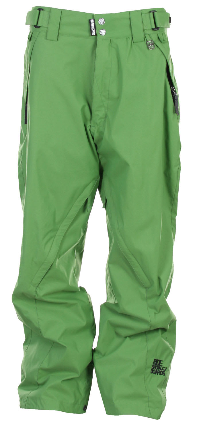 Shop for Ride Madrona Snowboard Pants Green - Men's