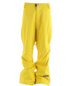 Ride Madrona Snowboard Pants Yellow