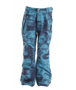 Ride Madrona Snowboard Pants Stripe Grime Print