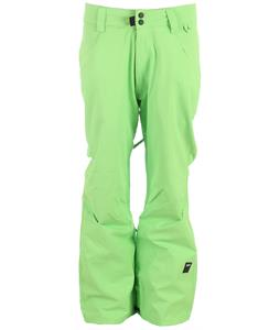 Ride Madrona Snowboard Pants Green Glow Twill