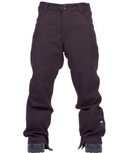 Ride Madronna Snowboard Pants Back Currant Denim