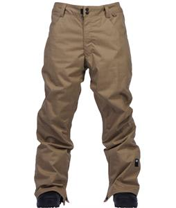 Ride Madronna Snowboard Pants Dark Khaki Herringbone