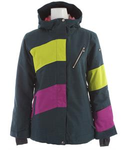Ride Magnolia Snowboard Jacket Blue Marine Slub