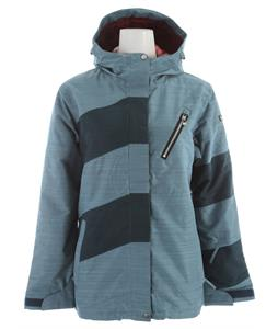 Ride Magnolia Snowboard Jacket Steel Blue Slub
