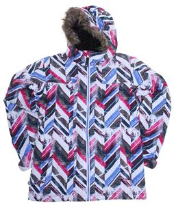 Ride Malibu Snowboard Jacket Chevron Print