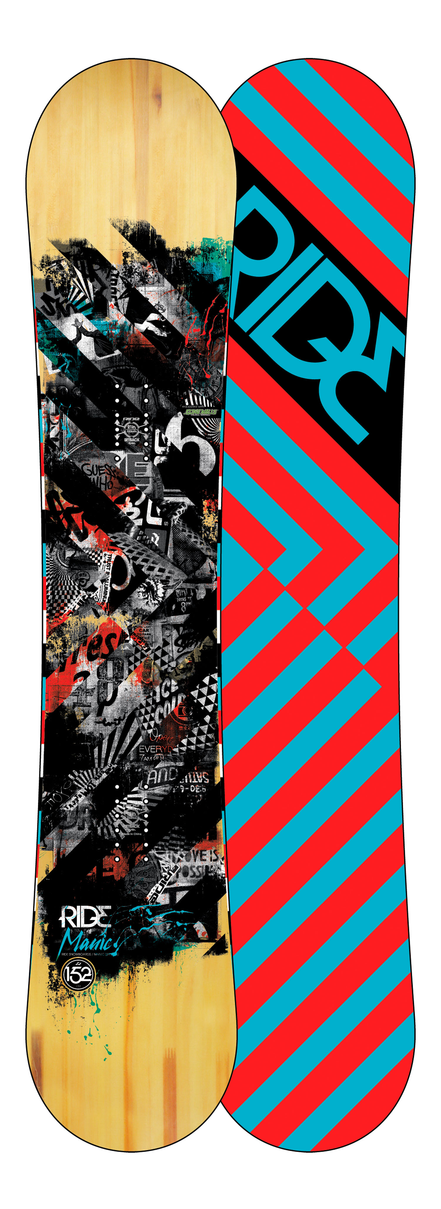 Shop for Ride Manic Snowboard 152 - Men's