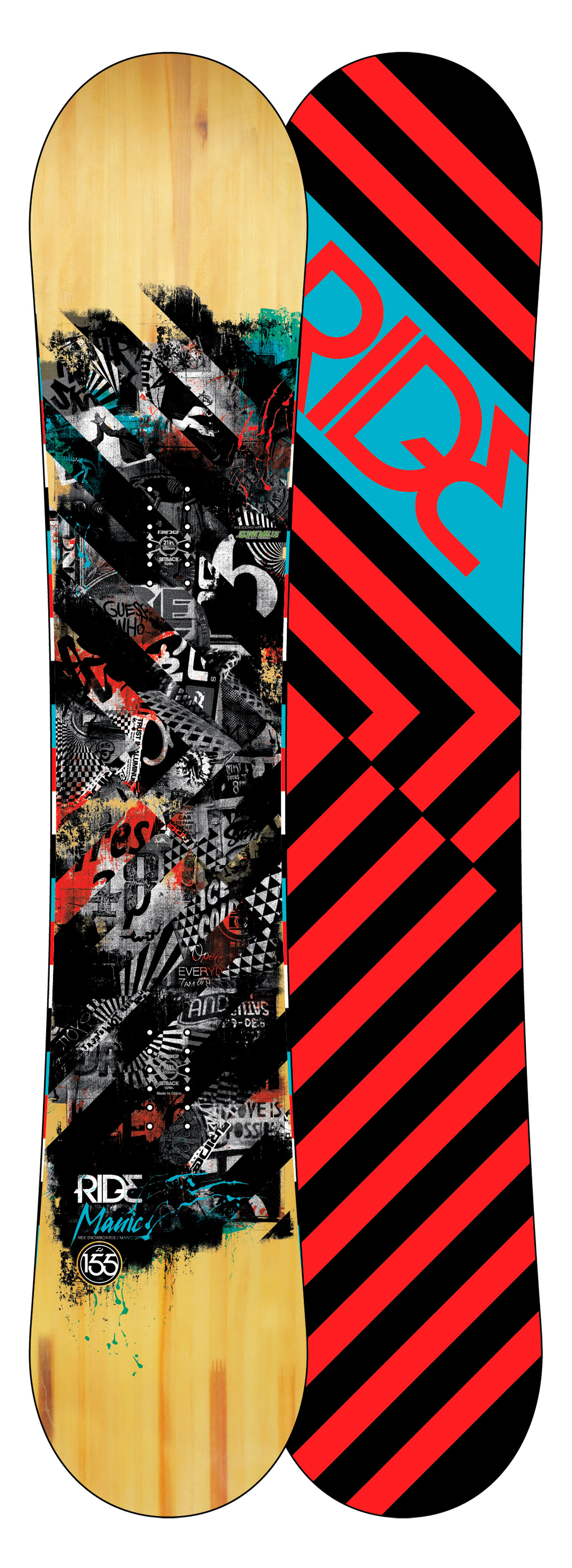 Shop for Ride Manic Snowboard 155 - Men's