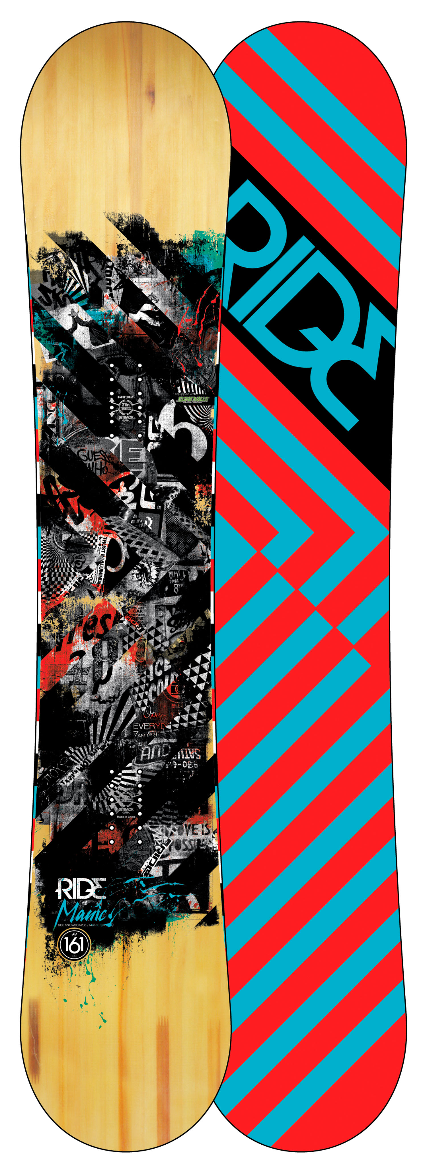 Shop for Ride Manic Snowboard 161 - Men's