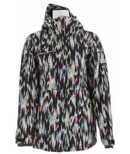 Ride Medina Insulated Snowboard Jacket Ikat Print