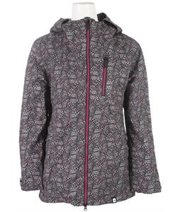 Ride Medina Snowboard Jacket Feather Dot Print