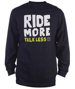 Ride More L/S T-Shirt Black