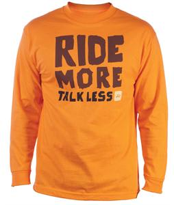 Ride More L/S T-Shirt Orange