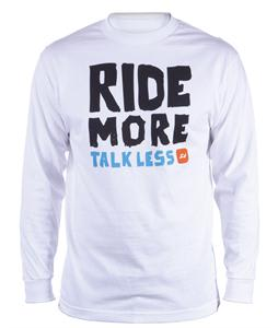Ride More L/S T-Shirt White