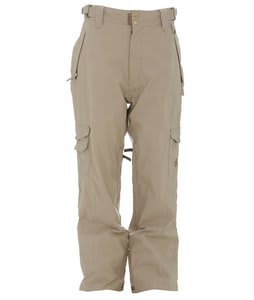 Ride Nellis Vented Shell Snowboard Pants Khaki