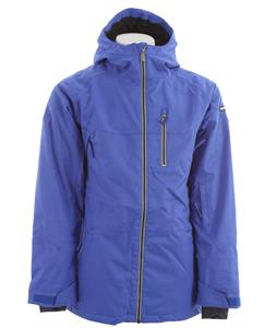 Ride Newport Insulated Snowboard Jacket Bright Indigo Twill