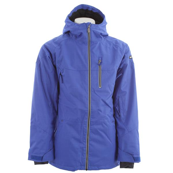 Ride Mens Newport Insulated Snowboard Jacket (Bright Indigo Twill)