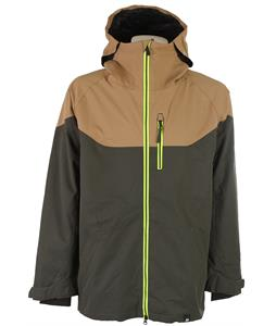 Ride Newport Snowboard Jacket Black Olive