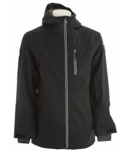 Ride Newport Snowboard Jacket Black Twill