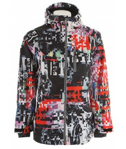 Ride Newport Snowboard Jacket Space Knuckle Print