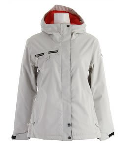 Ride Northgate Insulated Snowboard Jacket White Ice