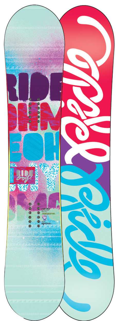 Shop for Ride OMG Snowboard 153 - Women's