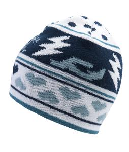 Ride Pattern Reversible Beanie Cream