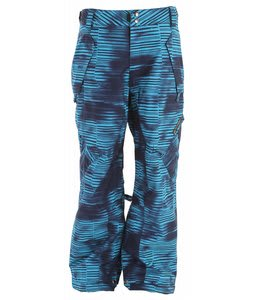 Ride Phinney Insulated Snowboard Pants Stripe Grime Print