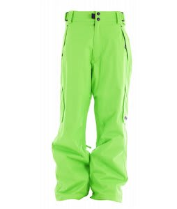 Ride Phinney Insulated Snowboard Pants Slime Green