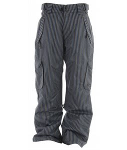 Ride Phinney Insulated Snowboard Pants Tri Stripe Denim